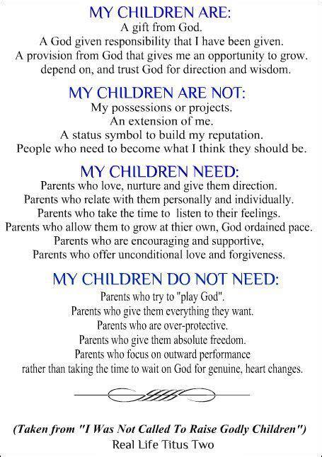 1000 Ideas About Raising Godly Children On Pinterest