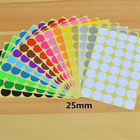 colored stickers popular colored dot stickers buy cheap colored dot