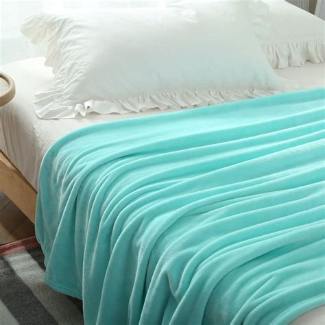 light blue throw blanket warm winter autumn blanket light blue fleece blanket throw