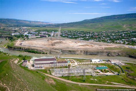 Глава Северной Осетии и Русгидро проверили ход пусковых работ на Зарамагской ГЭС1 .