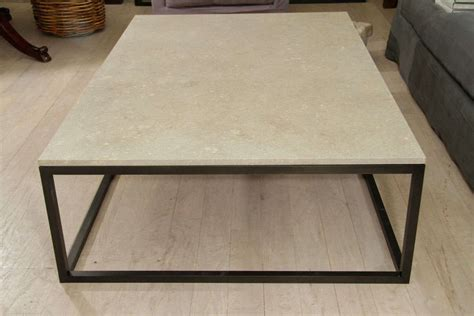 granite coffee table base seagrass stone top coffee table on blackened metal base