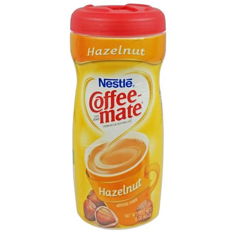 Taste test with the three flavors! Coffee-Mate Hazelnut Powder Creamer 15oz Canister - The ...