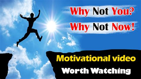 Why Not You & Why Not Now Jim Rohn Motivational Video
