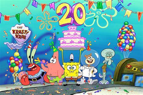 'spongebob Squarepants' To Celebrate 20 Years With The