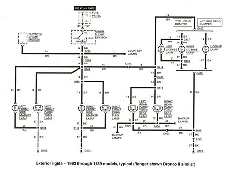 1999 ford explorer electrical wiring diagram fuse box