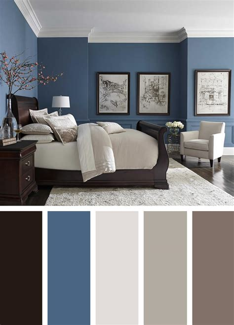 Bedroom Color Schemes In Blue by 12 Best Bedroom Color Scheme Ideas And Designs For 2019