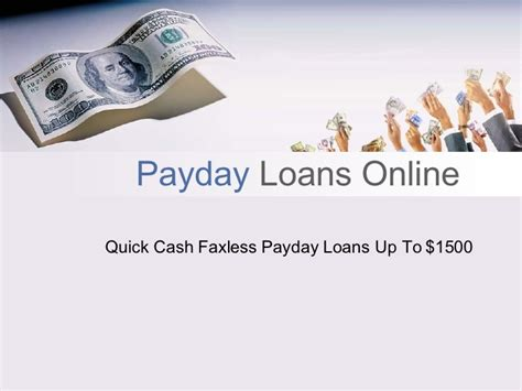 Quick payday loans online up to $1500 with no credit check