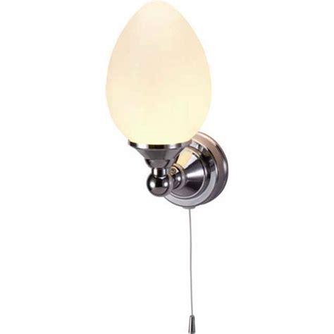 burlington edwardian elliptical light with pull cord t52