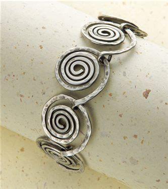 Wire Spiral Bracelet