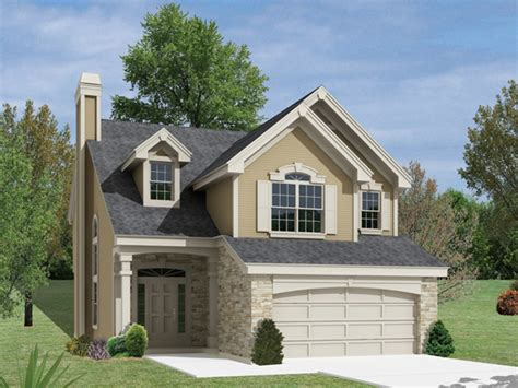 Simple Two-story House Small Two Story Narrow Lot House