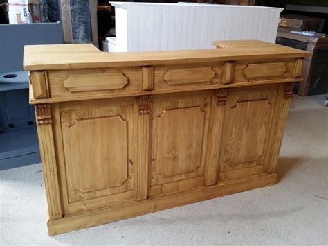 fabriquer un comptoir de cuisine en bois fabriquer un comptoir de bar en bois image sur le design