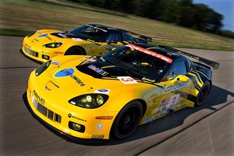 Gm Unveils 2010 Chevrolet Corvette C6r Gt2 For American