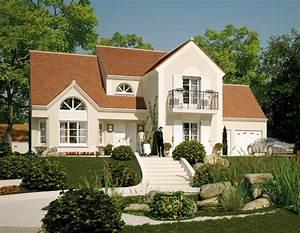 Modele et plans versailles du constructeur maisons barbey for Modele maison a construire