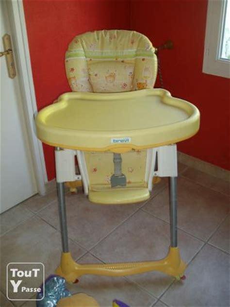 chaise haute babideal chaise haute brevi christophe de 33230