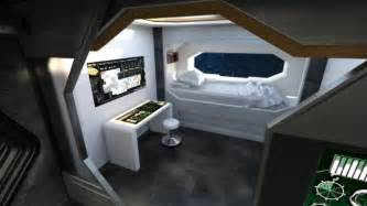 spaceship crew room  models  poser  daz studio