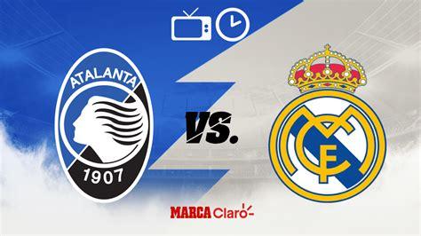 Champions League: Atalanta vs Real Madrid: Horario, cómo y ...