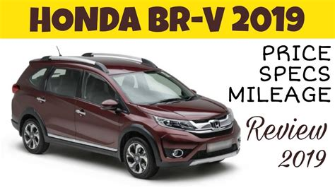 Review Honda Brv 2019 by Honda Brv 2019 Overview Price Specs Mileage