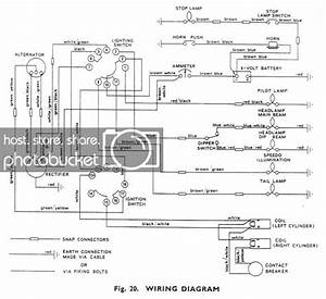 Triumph Wiring Explanation Please