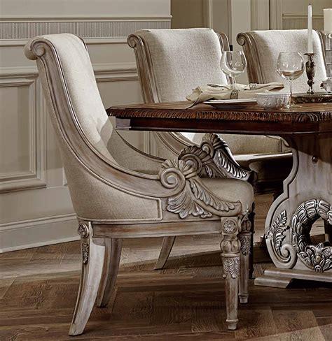 homelegance orleans ii trestle dining set white wash