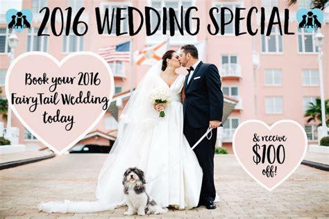 Tampa Bay Wedding Promos Wedding Discounts