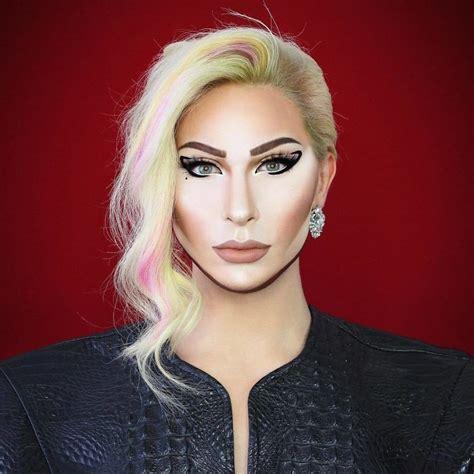 drag queen  manchester   good  makeup   turn  literally  celebrity