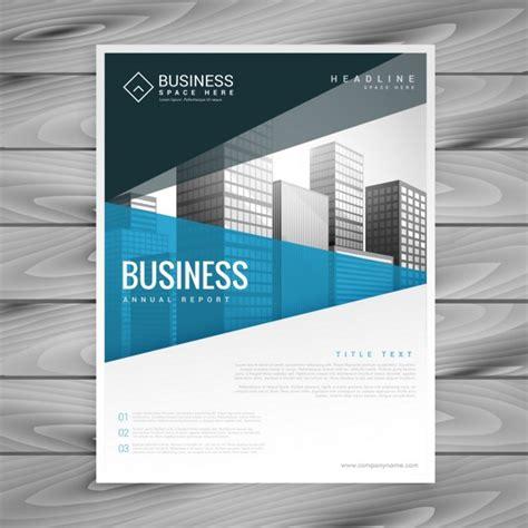 brosch 252 re template design f 252 r business pr 228 sentation der kostenlosen vektor