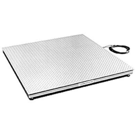 cambridge model al660 aluminum low profile floor scales