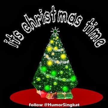 dp bbm natal pohon  buah gambar natal lonceng santa clause