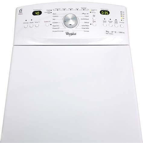 test whirlpool awe7220gg zen lave linge ufc que choisir