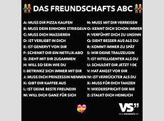 Das Freundschafts ABC VISUAL STATEMENTS®