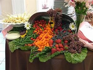 filecornucopia of fruit and vegetables wedding banquet With wedding veggie tray ideas