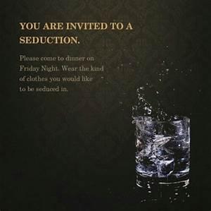 Lets start the seduction.. | I don't care, I love it ...