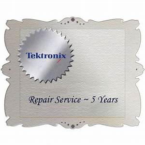 Tektronix R5dw Product Warranty And Repair Coverage