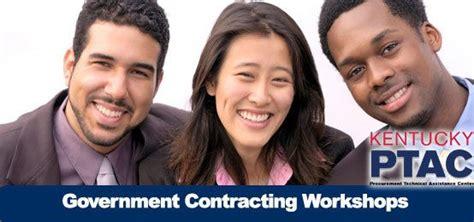 government contracting workshops  women  minority