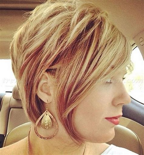 ideas  short layered bob haircuts  pinterest