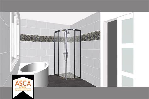faire de la faience frise carrelage mural salle de bain obasinc