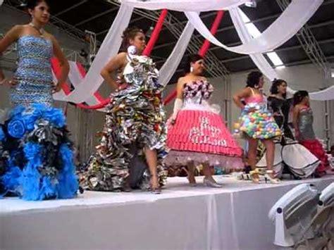 vestidos reciclados youtube