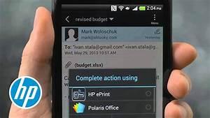 Hp Mobiles Drucken - Android