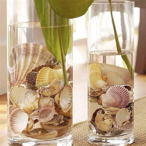 sea shells decorations seashell decor home decor pinterest