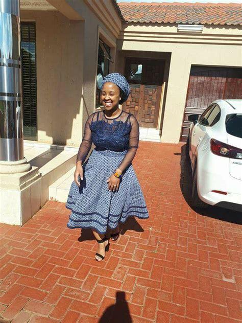 shweshwe lesotho wedding dresses  south africa fashionre