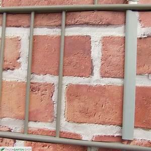 Sichtschutz Befestigung Auf Mauer : m tec print flecht sichtschutzsteifen backstein mauer ~ Watch28wear.com Haus und Dekorationen