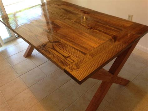 ana white  leg table diy projects