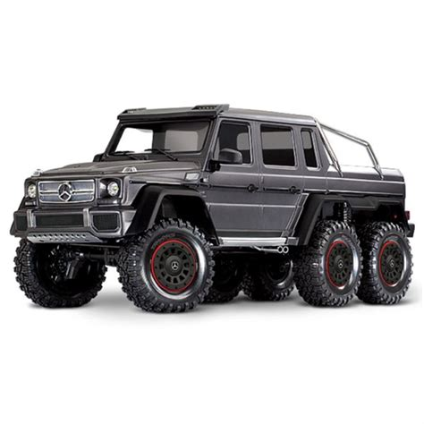 Great savings & free delivery / collection on many items. TRAXXAS TRX-6 6x6 Mercedes G63 Silver (TQi, LED Lights)(No Batt/Chg)