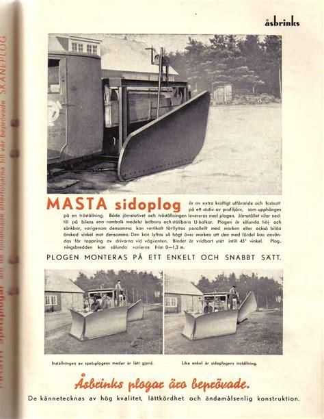 Åsbrink & Co: Sandningsmaskiner, snöplogar