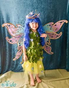 DIY Flower Fairy Costume