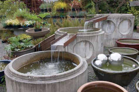 garden water feature diy mother earth news