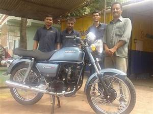1996 Hero Honda Cd 100ss Restored And Modified With Caf U00e9