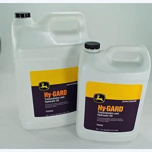 john deere hy gard transmission  hydraulic oil