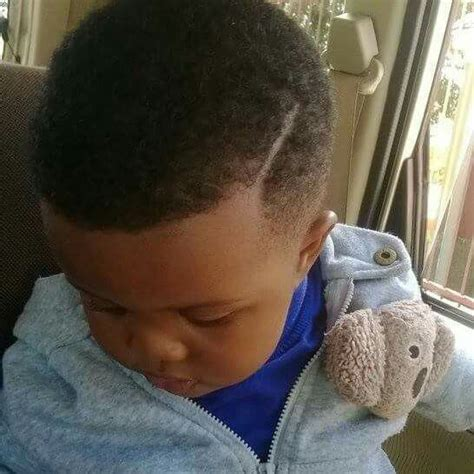Hairstyles For Black Baby Boy by Black Baby Boy Showing New Haircut