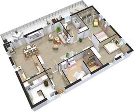 house design plan home plans 3d roomsketcher